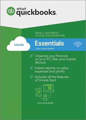 QuickBooks Online Essentials Monthly Subscription