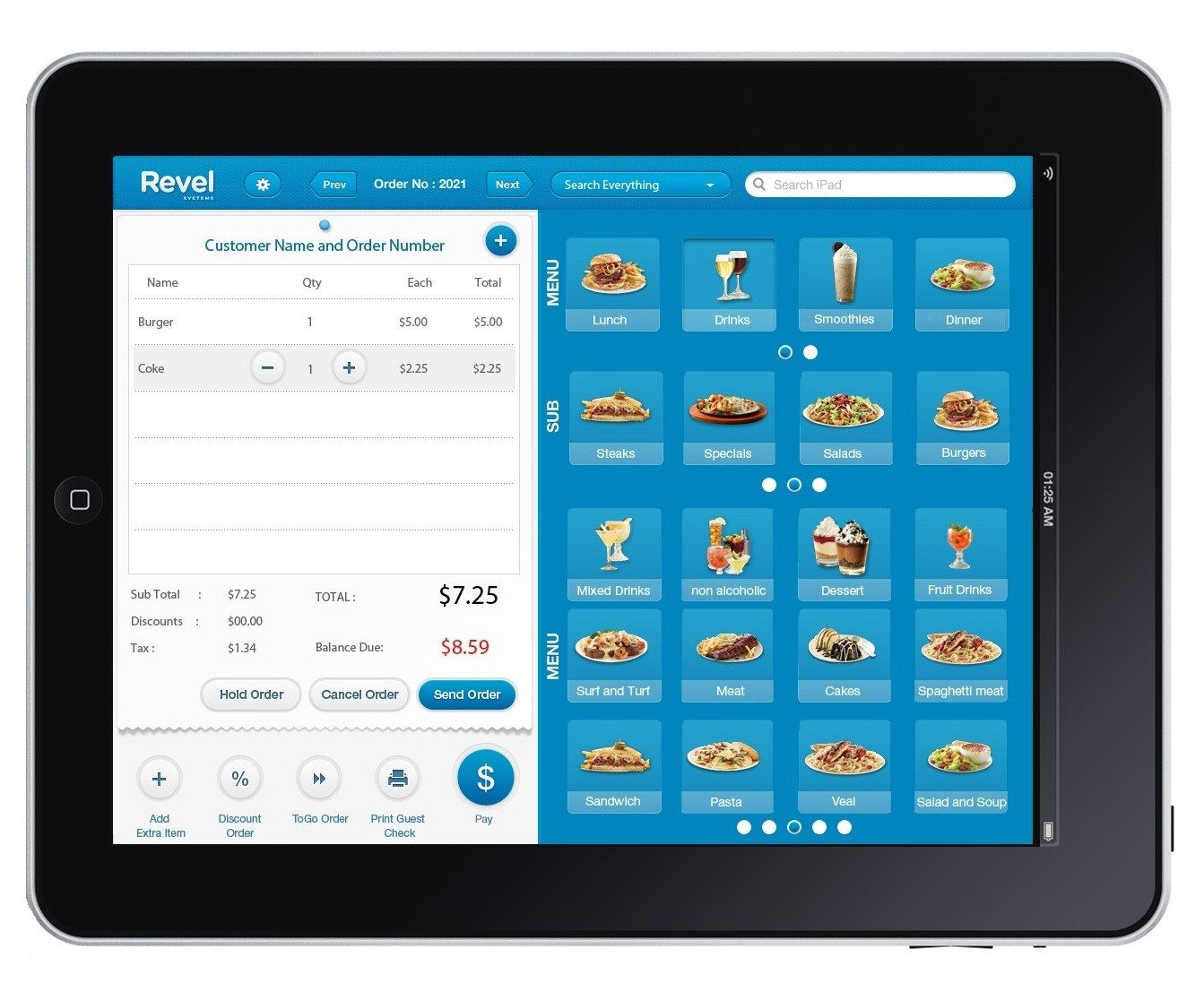 revel-systems-ipad-order-screenshot