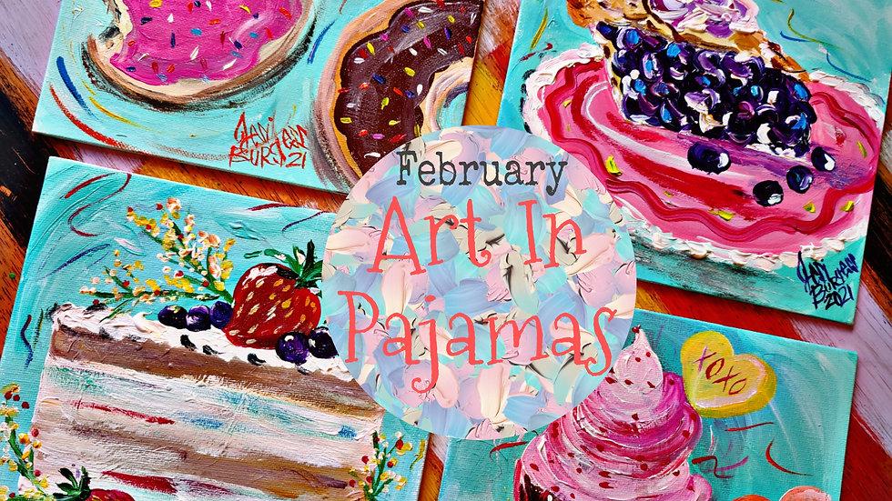 February Adult Painters Club Membership