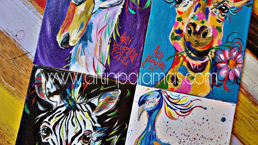 July Art Pajamas Adult Painters Club Membership