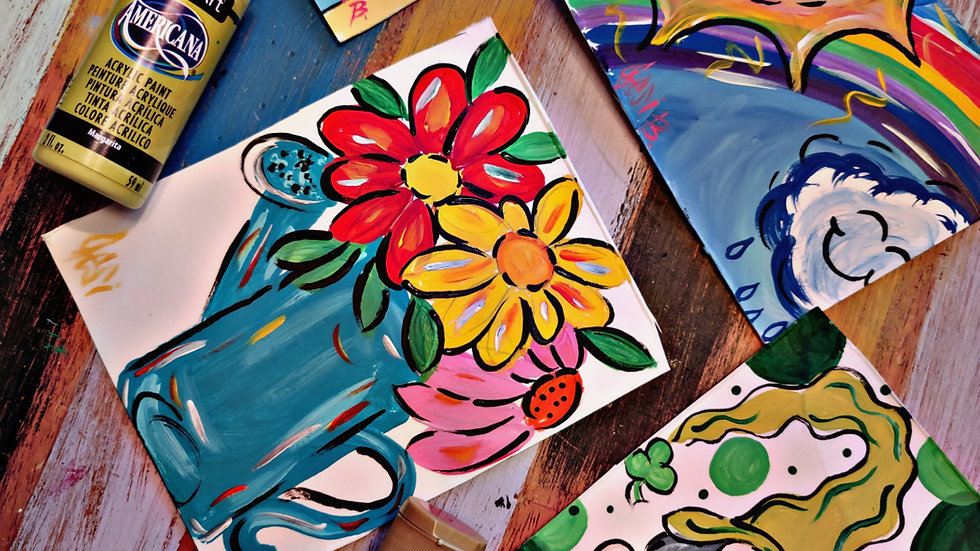 March Kids/Beginner Painters Class Club