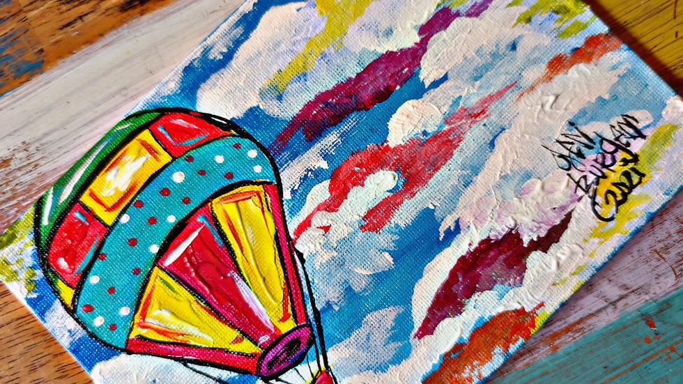 Hot Air Balloon Art In Pajamas Pop-Up Class