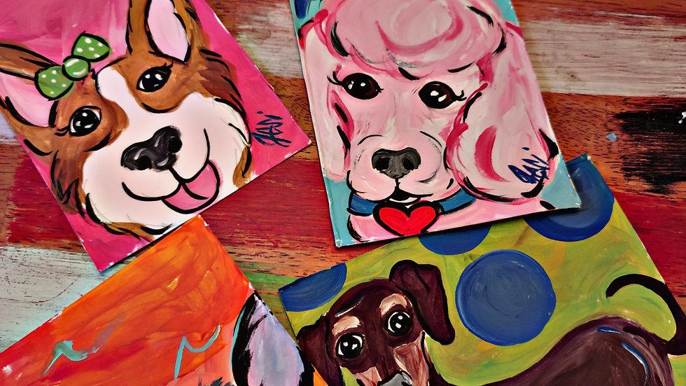 February Kids/Beginner Painters Class Club