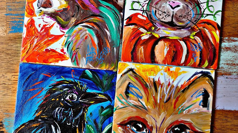 September Art In Pajamas Adult Painters Club Membership