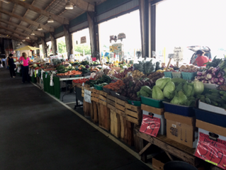 Visit the NC Farmers Market This Summer