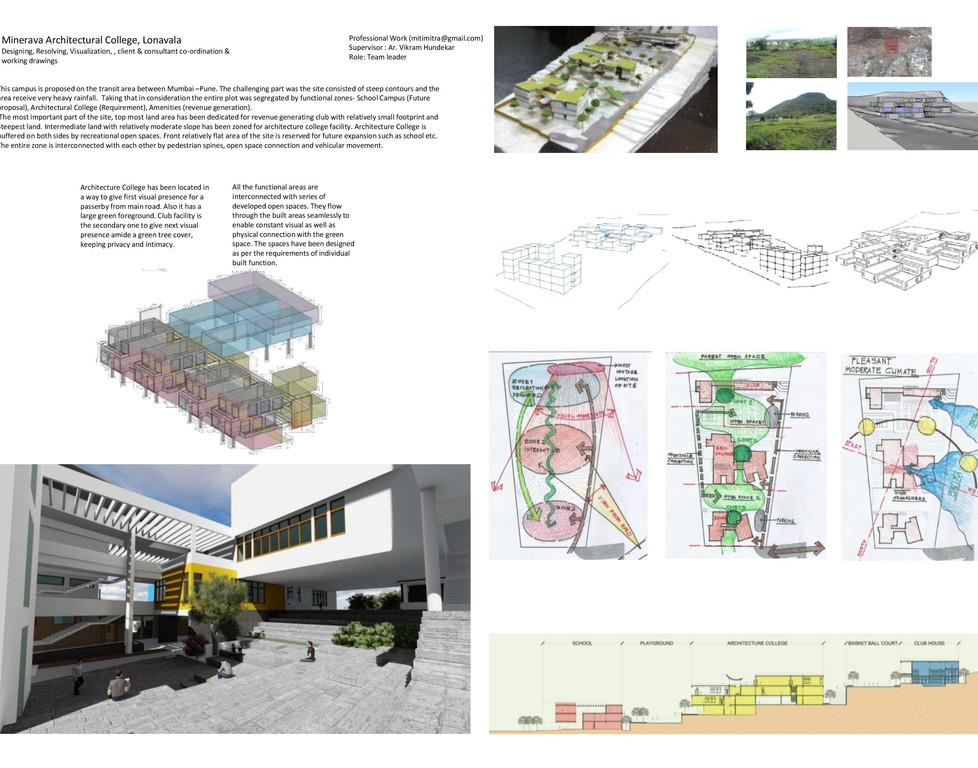 Architecture College Design Competition (by Mitimitra Consultants, India)