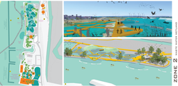 ZONE 2: PLAN (WASTEWATER FILTERATION)& 3D VISUALIZATION