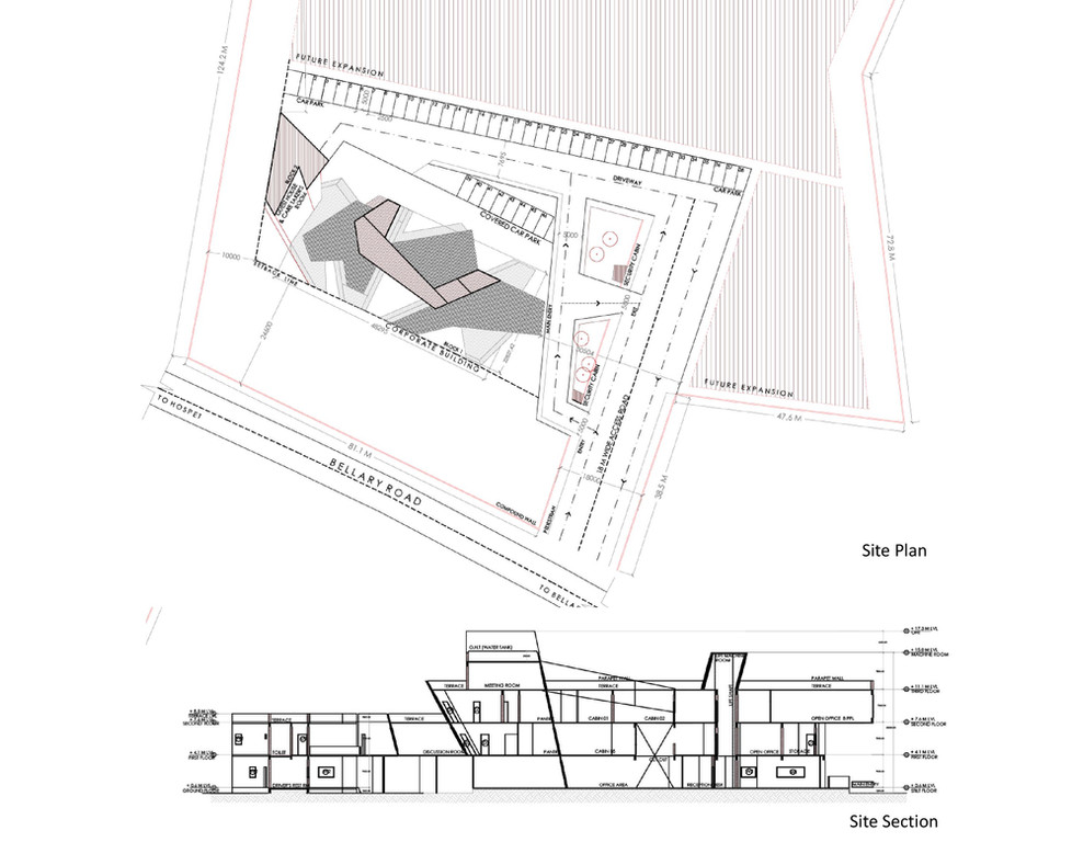 Site Planning (by INFORM Architects, India)