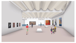 Top floor Interior Gallery