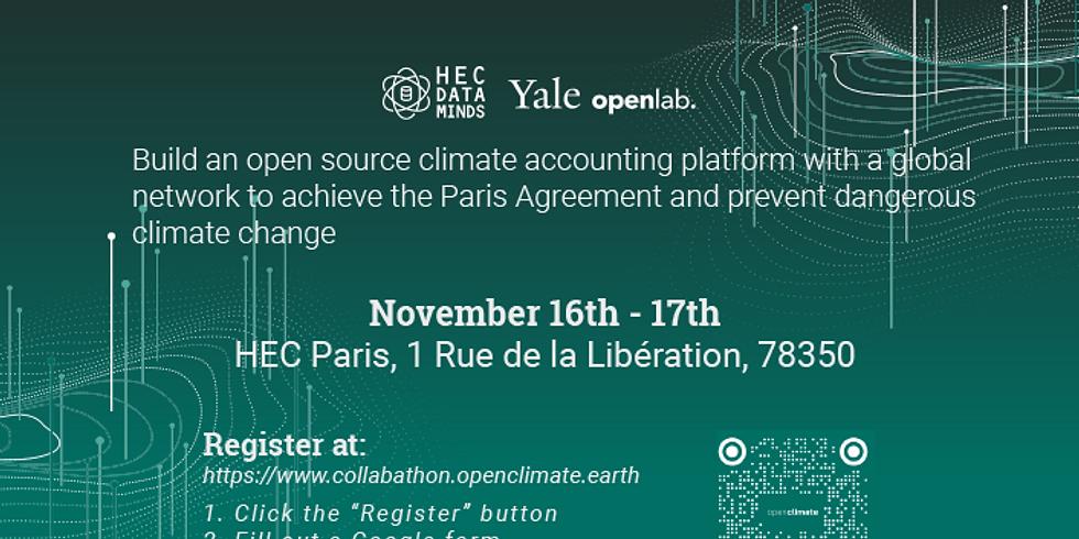 Open Climate Collabathon: HEC Data Minds x Yale Open Lab