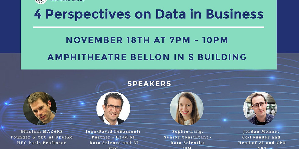 Keynote Conference: 4 Perspectives on Data in Business