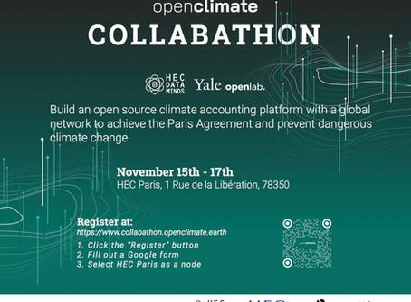 Open Climate Collabathon – 16.-17.11.2019