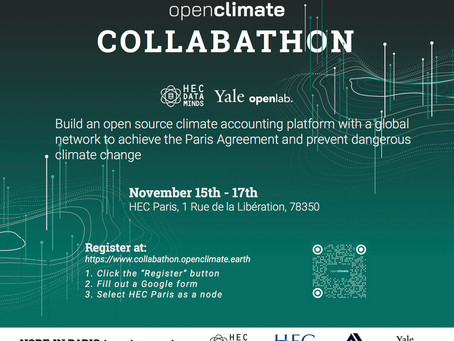 Open Climate Collabathon – 16.-17.11.2019
