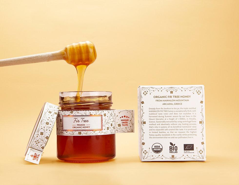 Apiceuticals-Organic-Honey-Greek-Raw-Fir
