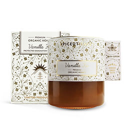 Vanilla Fir - ORGANIC HONEY 325gr
