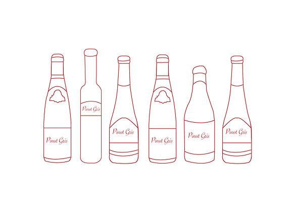 Pinot Gris box 6 flessen
