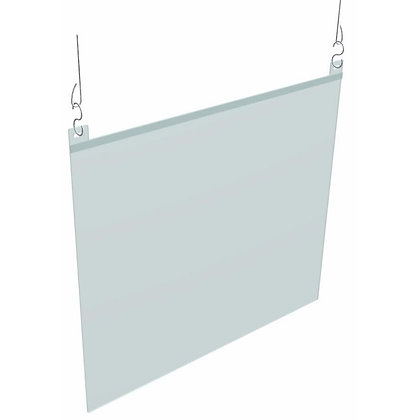 SUSPENDED BREATH GUARD | ACRYLIC PANEL INCLUDED