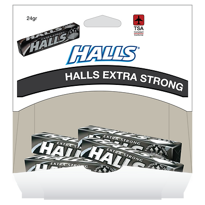 HALLS EXTRA STRONG 20X24 GR