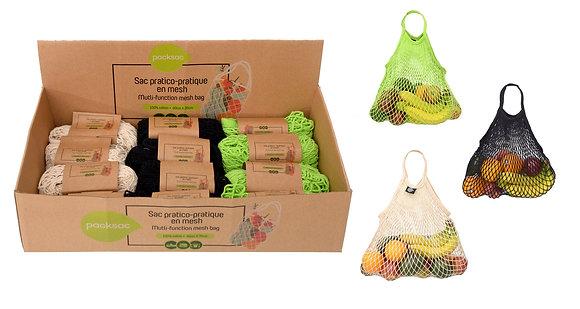 Cotton mesh Shopping Bag