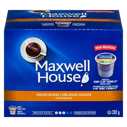 MAXWELL HOUSE HOUSE BLEND 30 CT