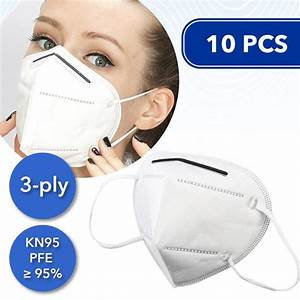 KN95 Face Mask - 10 Units