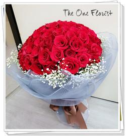 99枝紅玫瑰求婚花束 BQ-145