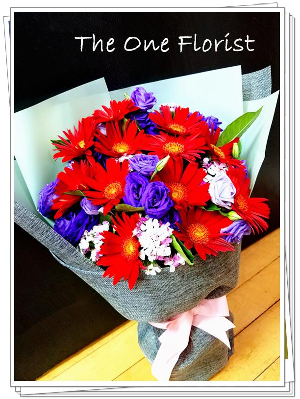 12枝太陽花花束 網上花店 (GD-A13)