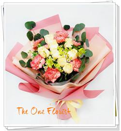 MD-A03玫瑰康乃馨花束