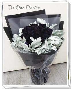荷蘭黑玫瑰花束(BQ-158)