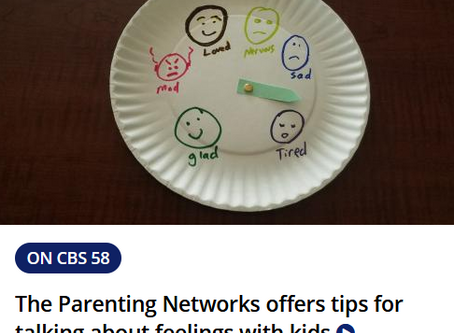 Parenting Tips on Channel CBS58