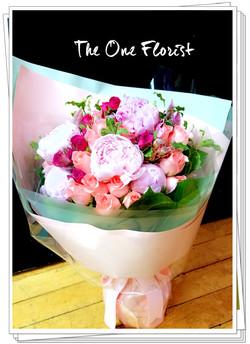 牡丹玫瑰花束 網上花店 (BQ-116)