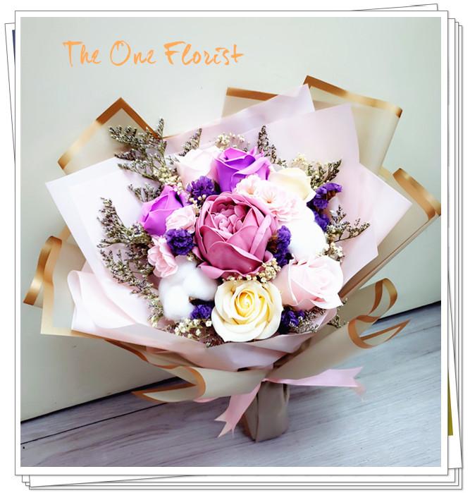 (MD-A03)母親節香皂花小花束