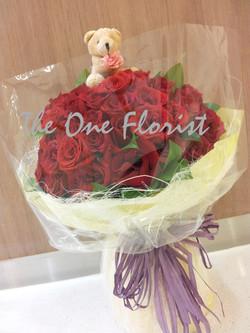 99枝玫瑰花束 網上花店(BQ-01)