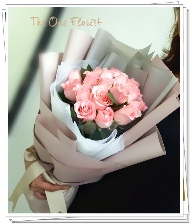 18支裝玫瑰花束(BQ-161)