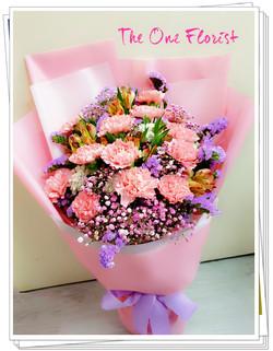 母親節康乃馨花束 MD-A17