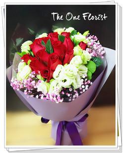MD-A08 母親節玫瑰花束