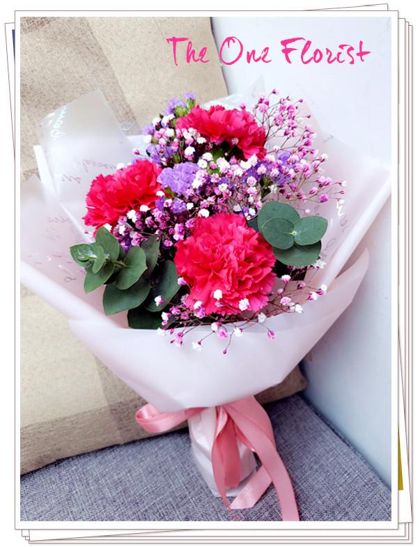 (MD-A02)母親節康乃馨小花束