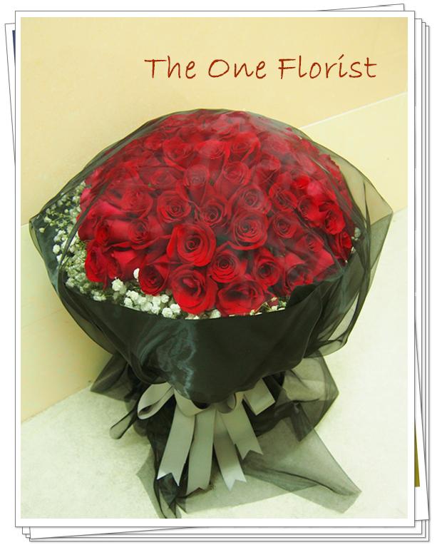 求婚花束99枝玫瑰 (BQ-98)