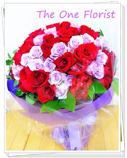 99枝荷蘭玫瑰求婚花束 網上花店(BQ-84)