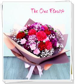 (MD-A09)母親節康乃馨花束