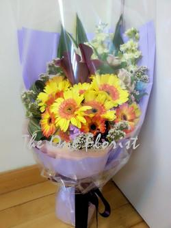 馬蹄蘭太陽花花束 網上花店 (BQ-15)