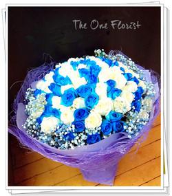 99支藍玫瑰 (BQ-125)