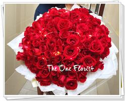198支紅玫瑰求婚大花束 (BQ-135)