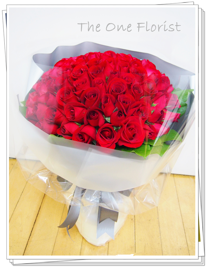 99枝紅玫瑰求婚花束 網上花店(BQ-87)