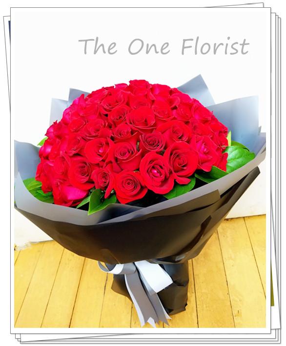 99枝紅玫瑰求婚花束 網上花店(BQ-83)