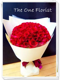 99枝玫瑰求婚花束 (BQ-97)