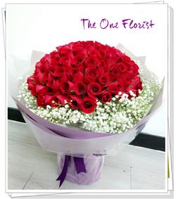 99支玫瑰花束BQ-149