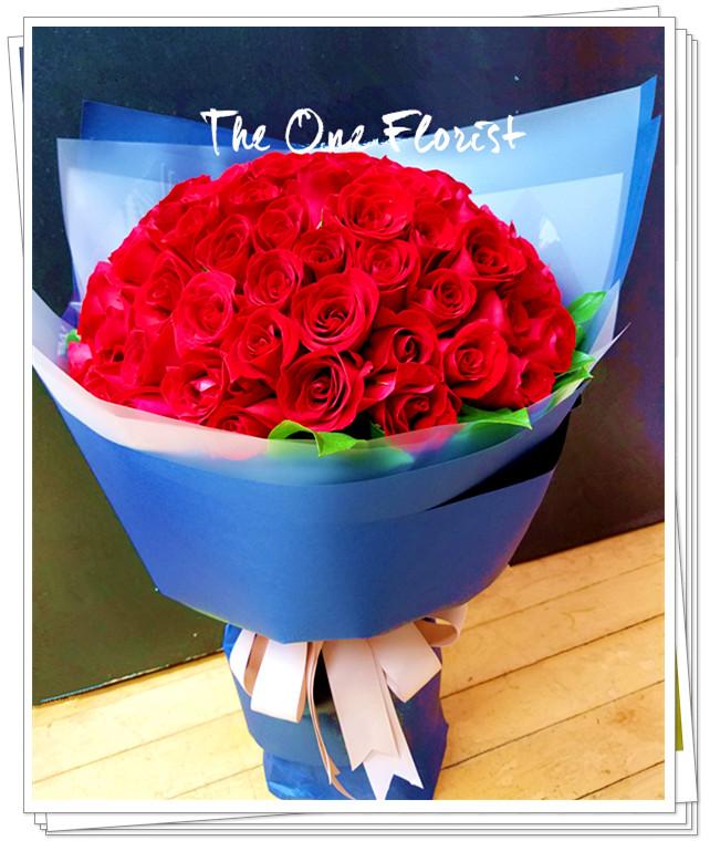 99枝玫瑰求婚花束 網上花店 (BQ-123)