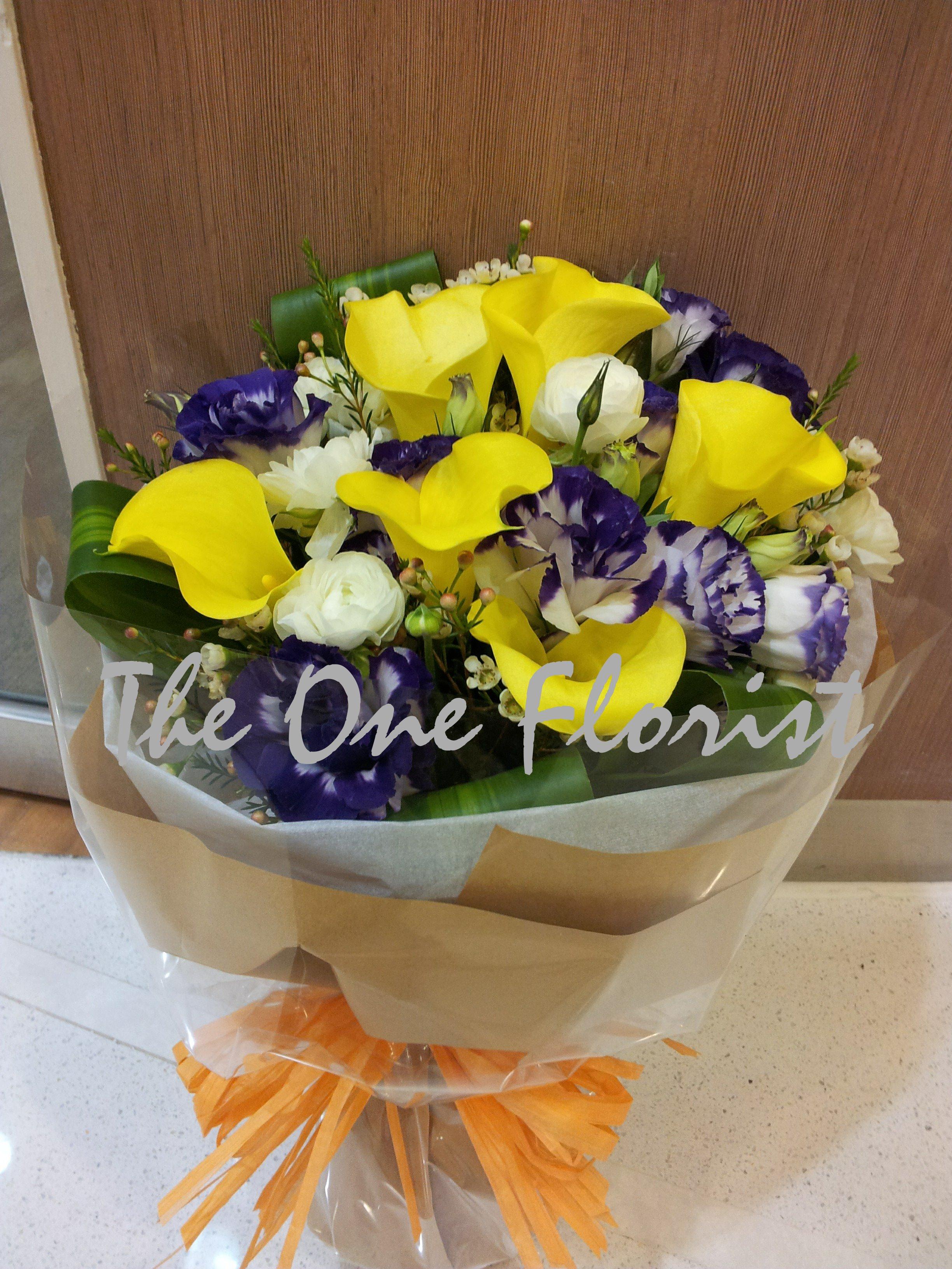王馬蹄蘭花束 網上花店 (BQ-05)
