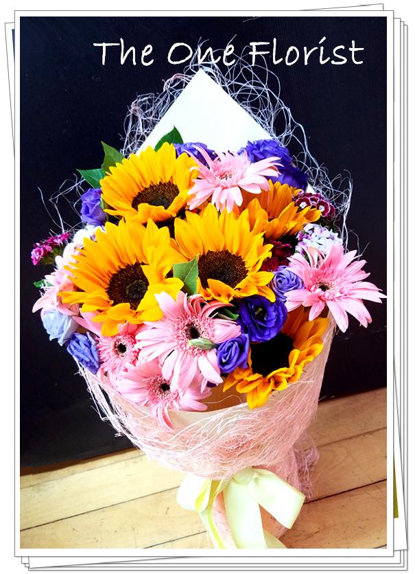 向日葵太陽花花束 (GD-A16)